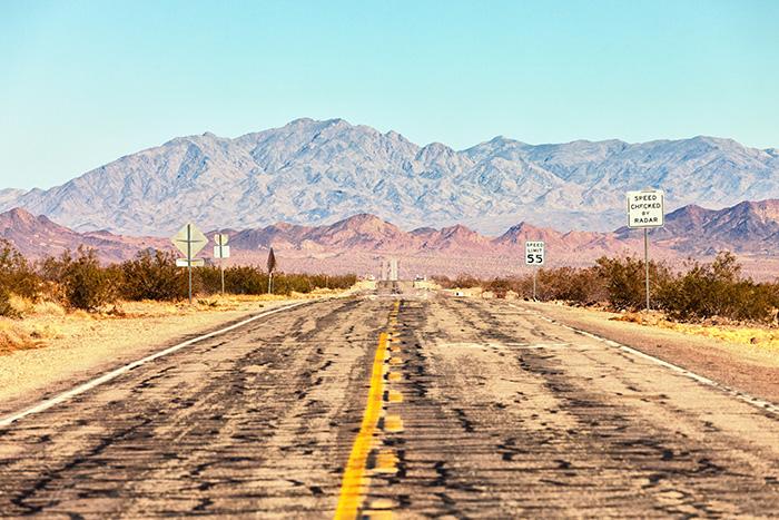 Com'era prima la mitica Route 66
