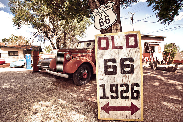 Diretti verso la California attraverso la mitica Route 66