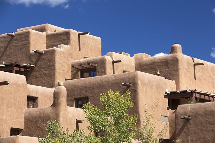 Architettura stravagante a Santa Fe