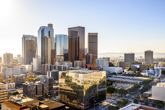 Los Angeles, Holliwood e il suo skyline