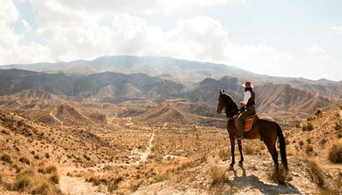 Deserto di Tabernas in Almeria