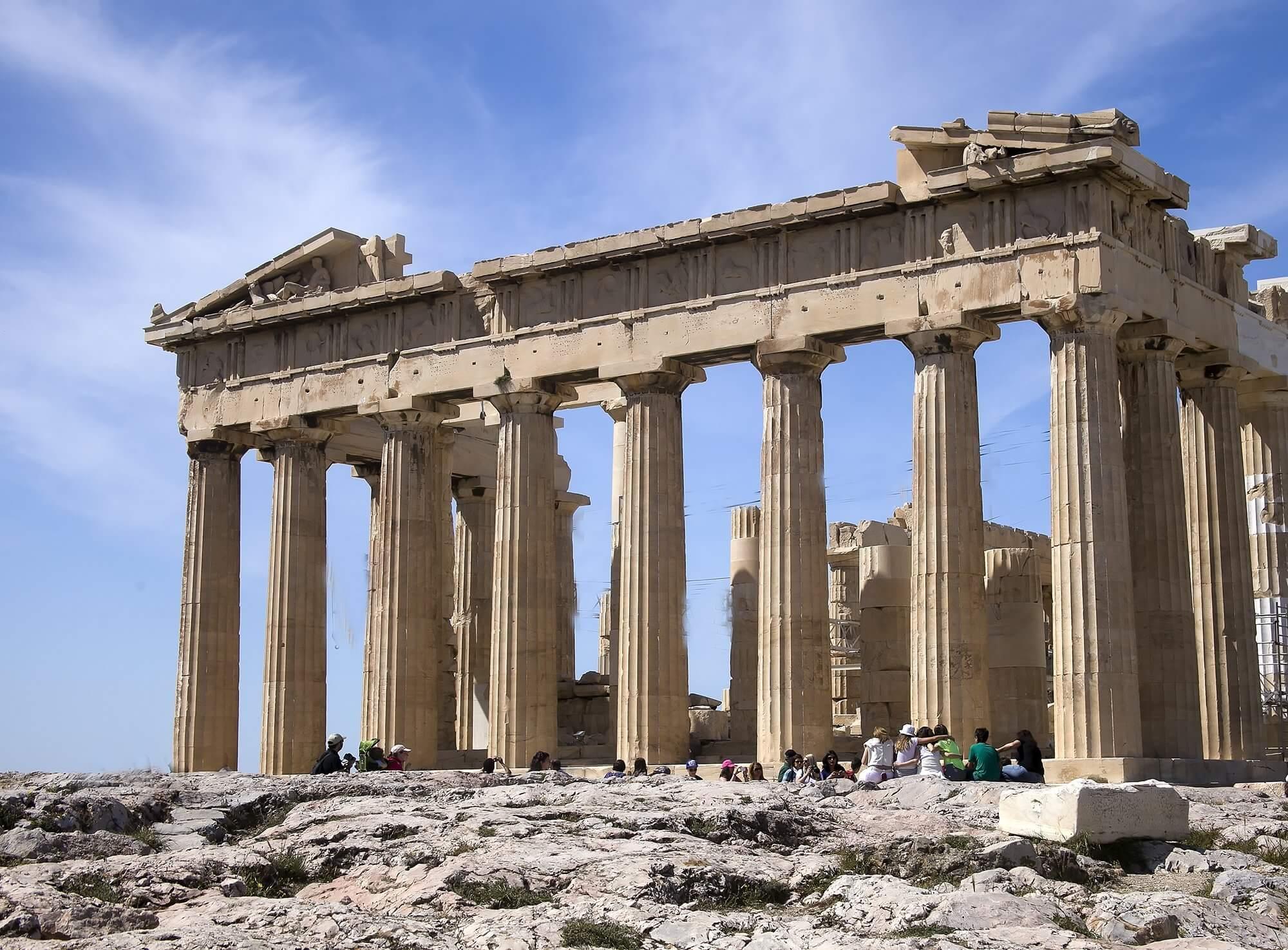 Atene capitale europea economica