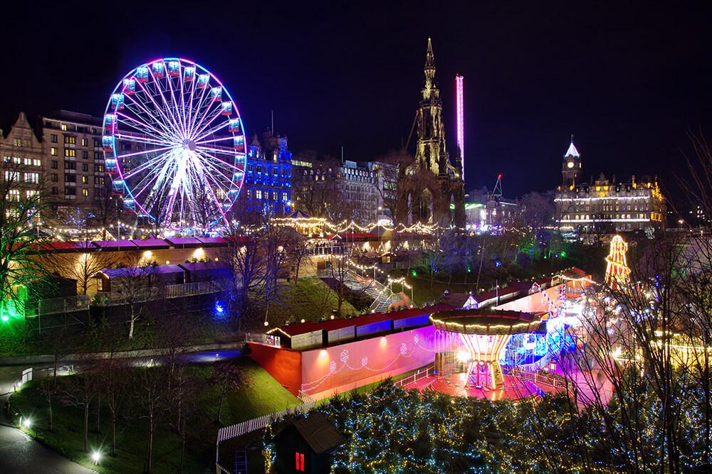 Edimburgo e i mercatini di natale