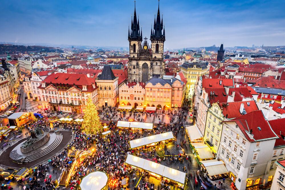 Praga mercatini natale