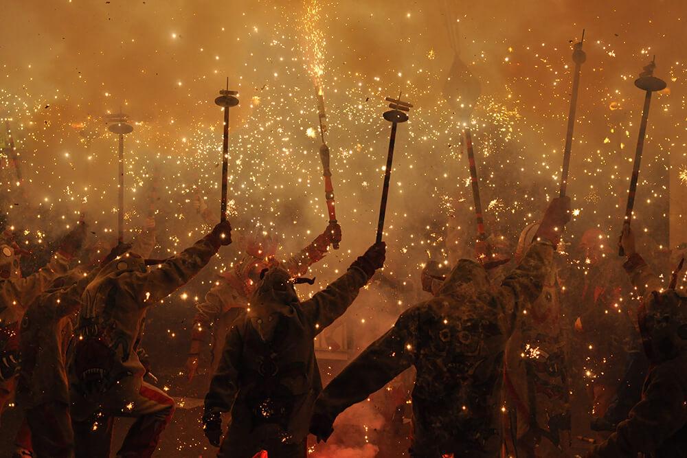 Correfocs Catalogna