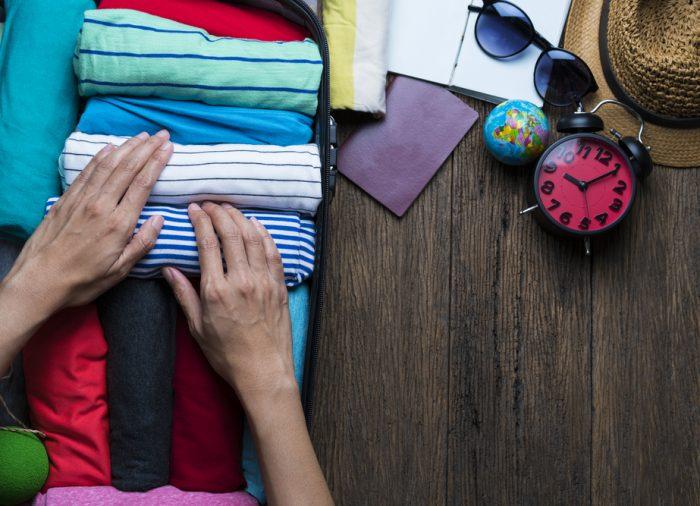Cinque consigli e trucchi per preparare la valigia